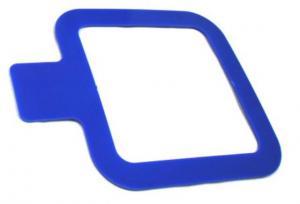 Sampling Templates Sterile Plastic Template 10 x 10 cm2 Blue Plastic